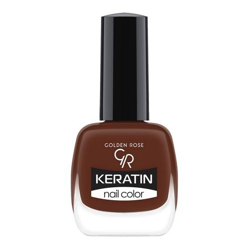 Keratin Nail Color - Keratynowy lakier do paznokci -49-Golden Rose