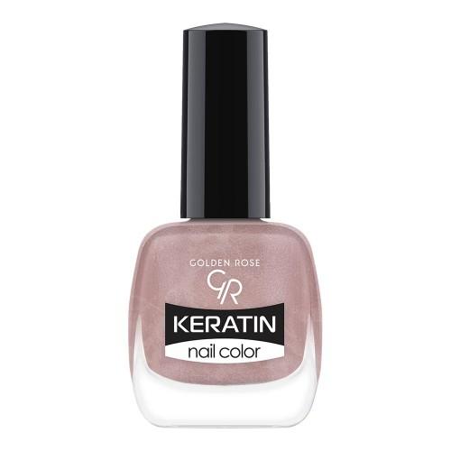 Golden Rose Keratin Nail Color 52 Keratynowy lakier do paznokci