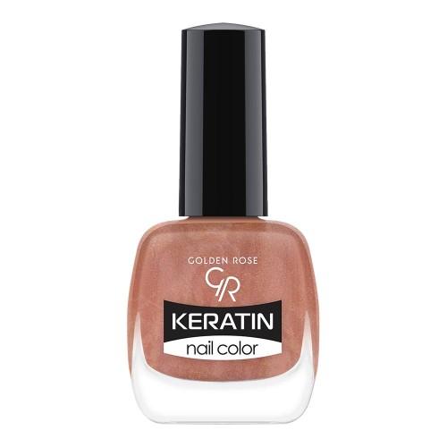 Golden Rose Keratin Nail Color 55 Keratynowy lakier do paznokci