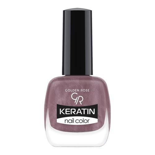Golden Rose Keratin Nail Color 56 Keratynowy lakier do paznokci
