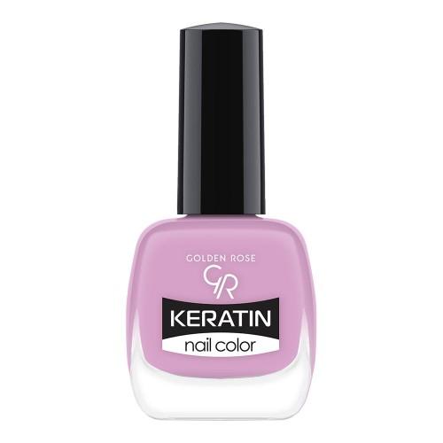 Golden Rose Keratin Nail Color 59 Keratynowy lakier do paznokci