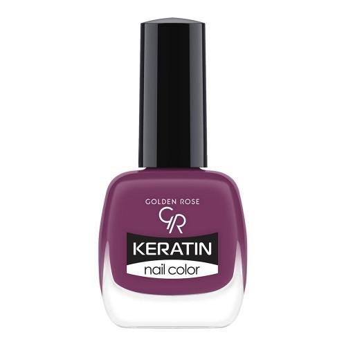 Keratin Nail Color - Keratynowy lakier do paznokci -61-Golden Rose