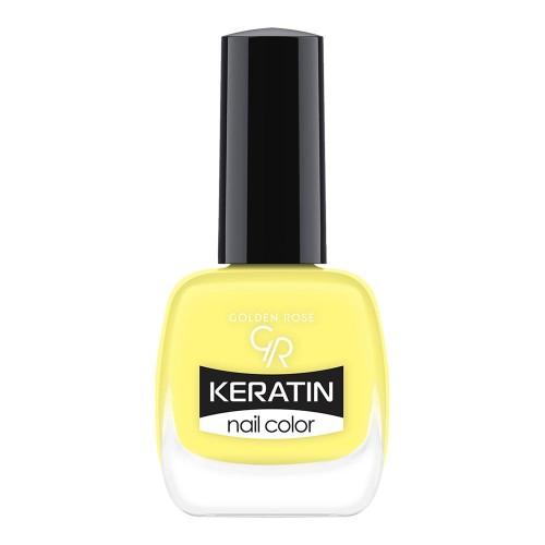 Golden Rose Keratin Nail Color 77 Keratynowy lakier do paznokci