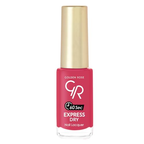 Golden Rose Express Dry Nail Lacquer 43 Szybkoschnący lakier do paznokci