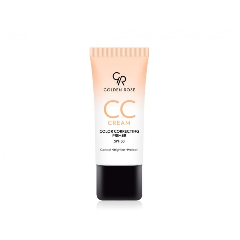 CC Cream Color Correcting Primer - Orange - Korygujący krem CC – pomarańczowy - Golden Rose
