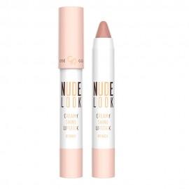 Nude Look Creamy Shine Lipstick Kremowa Pomadka w Kredce